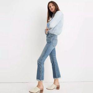 Madewell Petite Cali Demi-Boot Jeans NWT 30p